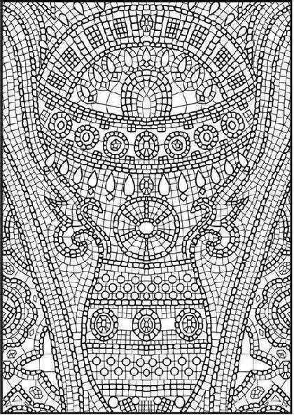 Mosaic Coloring Sheets Free Coloring Sheet Extremely Coloring Pages