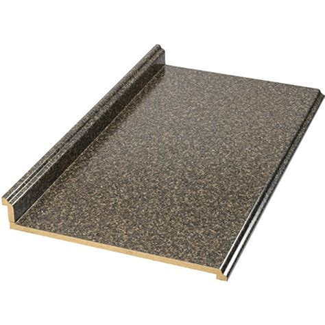 Foot Laminate Countertop - shop vt dimensions formica 8 ft labrador granite etchings straight laminate kitchen countertop