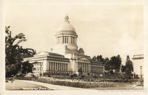 washington state capitol olympia wa postcard