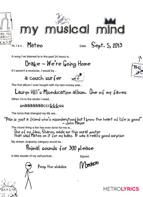 song for him r b singer mateo gets creative with his my musical mind