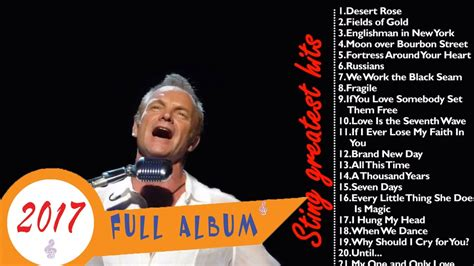 sting best songs sting greatest hits sting collections 2016 2017
