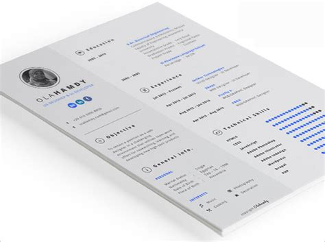 10 best free resume cv templates in ai indesign psd interactive resume template 10 best free resume cv