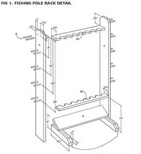 how to building wooden rod rack plans pdf plans