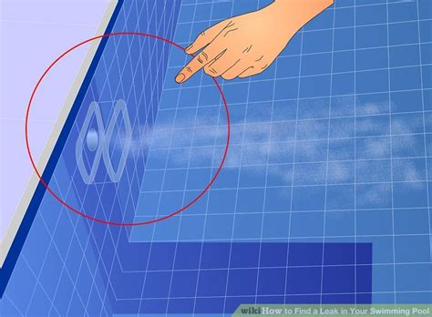how to find leak in vinyl pool liner how to find a leak in your swimming pool 8 steps with