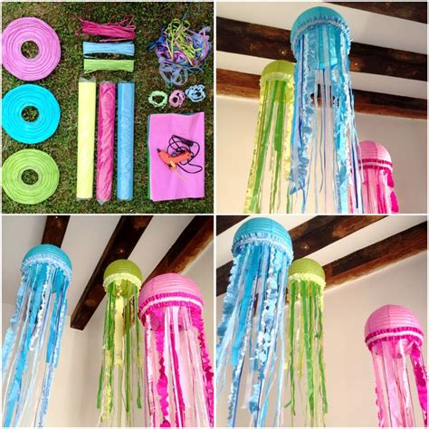 Handmade Jellyfish - mrs jellyfish handmade homework craft