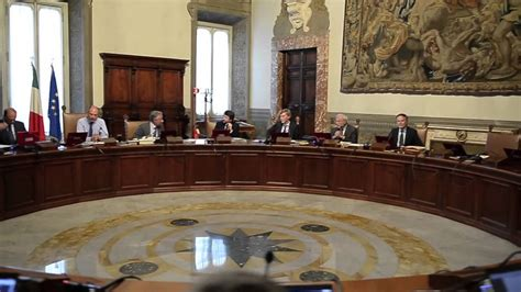 consigli dei ministri la riunione consiglio dei ministri 26 agosto