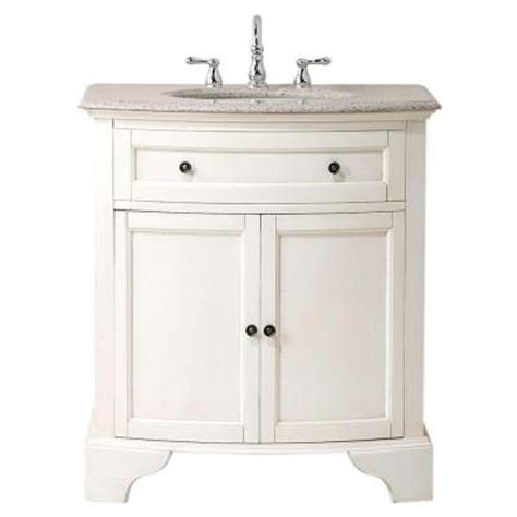 home depot granite bathroom vanity home decorators collection hamilton 31 in w x 22 in d