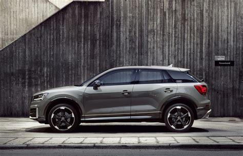Audi Sondermodelle by Audi Bringt Das Sondermodell Audi Q2 Edition 1