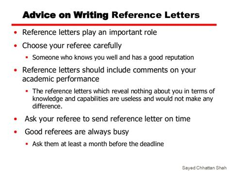 Reference Letter Format For Chevening Scholarship Tips On Applying For A Scholarship
