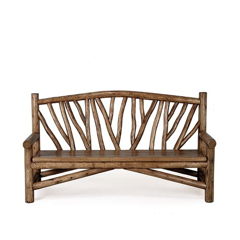 rustic bench rustic bench la lune collection