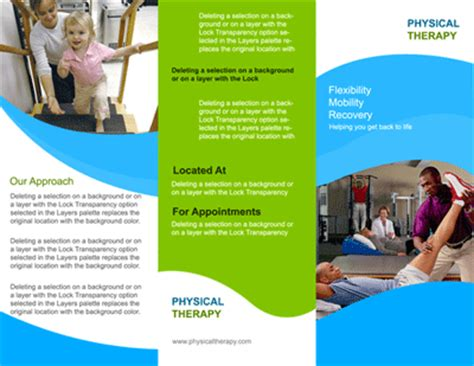 Web Design Company Kolkata Software Development India Joomla Word Press Physical Therapy Brochure Templates
