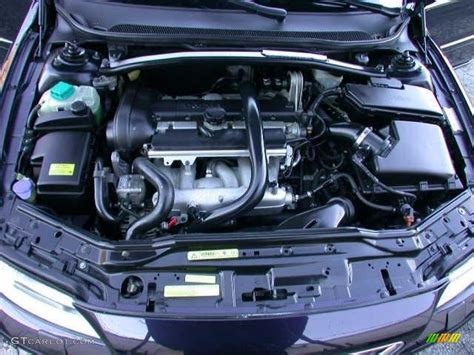 2005 volvo s60 2 5t 2 5 liter turbocharged dohc 20 valve