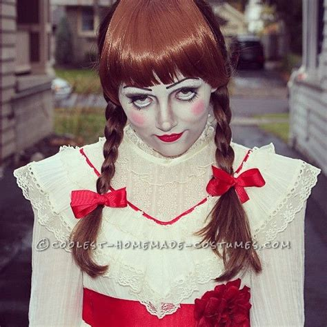 annabelle doll halloween makeup creepy annabelle halloween costume halloween costume