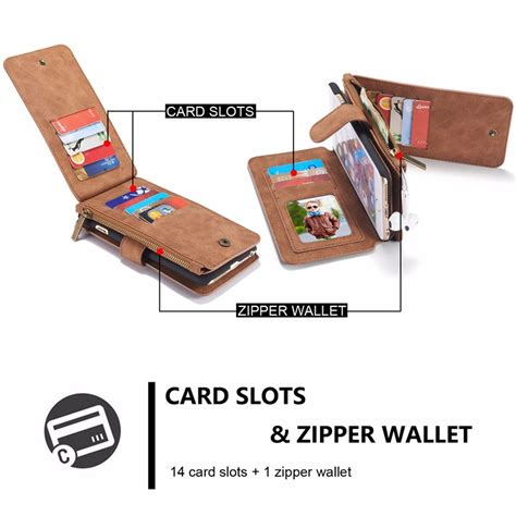 Kece Caseme Iphone 66s Wallet Pouch Card Leather Berkualitas caseme magnetic detachable zipper wallet for iphone 6 6s 4 7 inch sale banggood sold out
