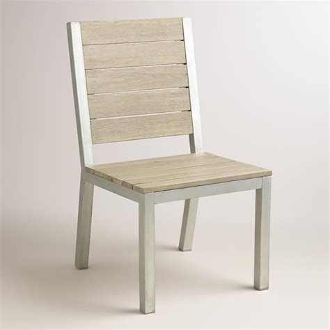 wood and metal pelagia dining side chair world market