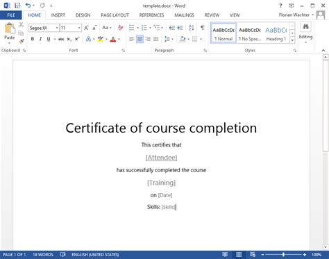 how to create a training certificate in sharepoint