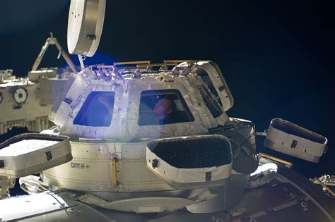 Cupola Space Station by The Iss Cupola The Earth Through The Windows