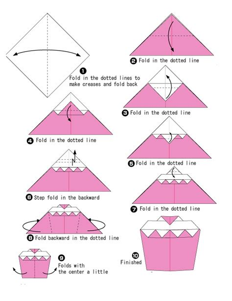 How To Do An Origami - cake origami photo origami photos