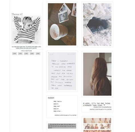 themes tumblr plain tumblr themes simple sidebar www galleryhip com the