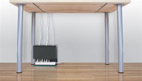 desk cord organizer 15 diy cord and cable organizers for a clean and