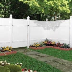 veranda windham 6 ft h x 6 ft w white vinyl fence panel