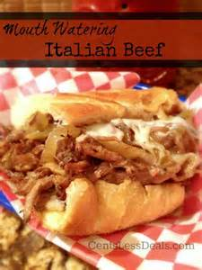 delicious meal ideas succulent italian beef slowcooked