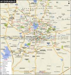 hyderabad telangana city map information travel and facts