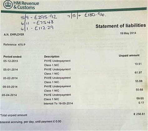 National Insurance Contribution Letter J what to do if hmrc say you owe paye
