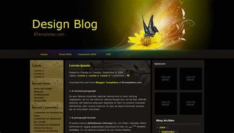 theme blog xml a collection of 10 new fresh three columns blogspot xml