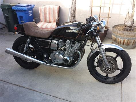 Suzuki Gs 850 Cafe Racer 1980 Suzuki Gs850 Cafe Racer Project Motorcycle Stuff