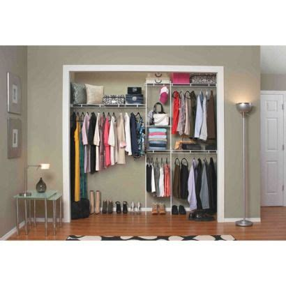 Closetmaid Closet Organizer Kit Closetmaid 5 To 8 Closet Organizer Kit White
