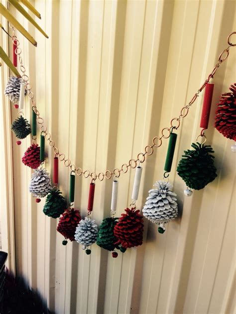 diy christmas decorations made from recycled material