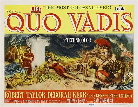 film streaming quo vadis quo vadis 1951