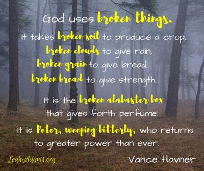God Uses Broken by When Looks Different Than What You Had Planned