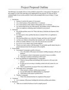 capstone outline template 10 how to write a exles lease template