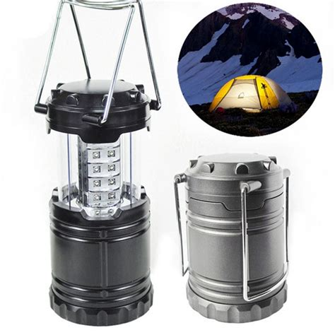 portable lights battery powered portable 30 led stretchable lantern cing l battery