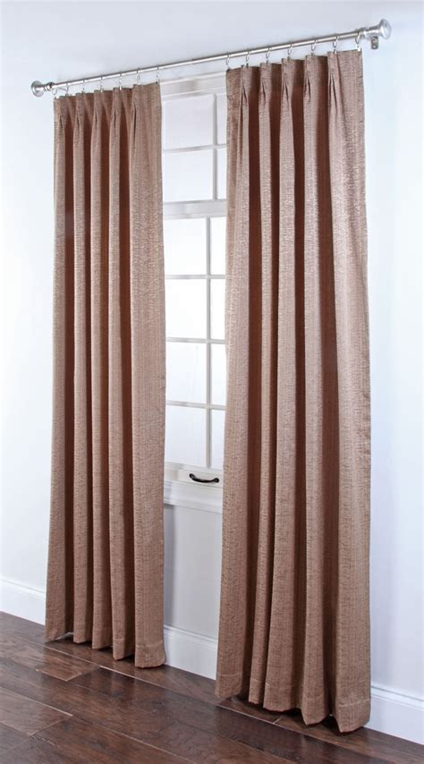 curtains portland or portland foam back pinch pleated drapes rust renaissance