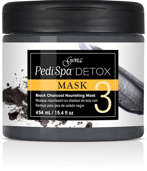 Paper Detox Black Masks by Pedi Spa Detox Black Charcoal Mask 15 4 Oz