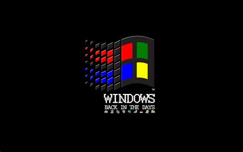 wallpaper windows logo retro windows logo wallpaper 15218