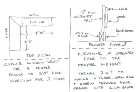 minimum window seat depth window seat depth home design