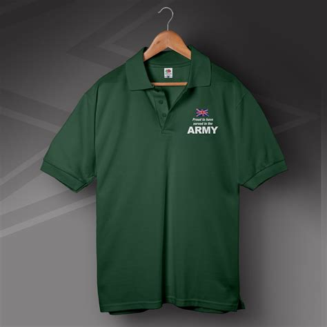 Jaket Polos Green Army army clothing proud to served in the army