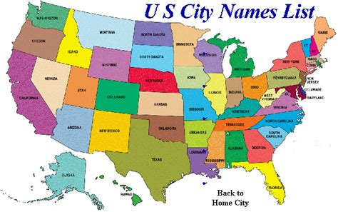 Find By Name And City U S City Names List All 50 State City Names Advertise Your Site With Us