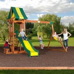 playsets for small yards on outdoor playset