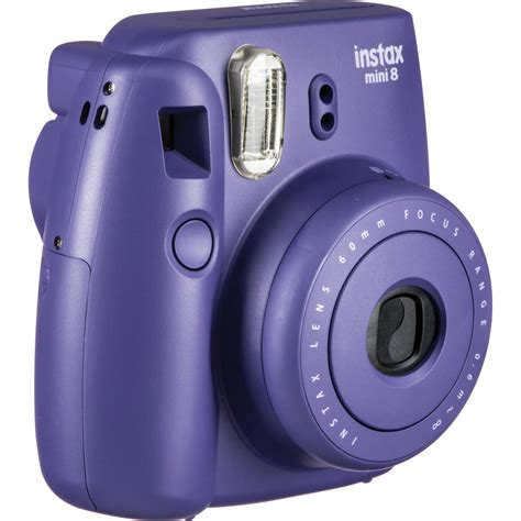 fuji instax mini 8 fuji instax mini 8 instant photo grape violet avec