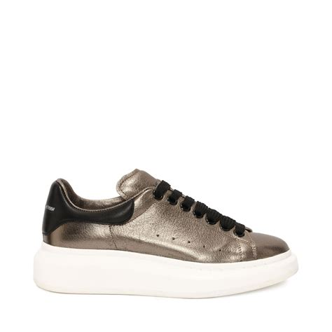 mcqueen sneakers mcqueen oversized sneaker in gray for lyst