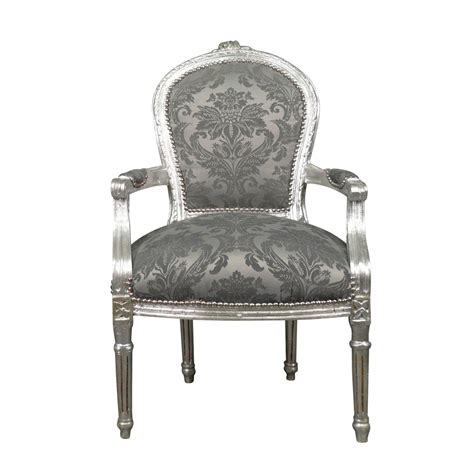 sillon luis xvi sill 243 n luis xvi rococ 243 gris muebles luis xv