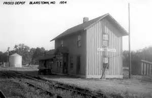 home depot springfield mo blairstown missouri depot the frisco a look back at