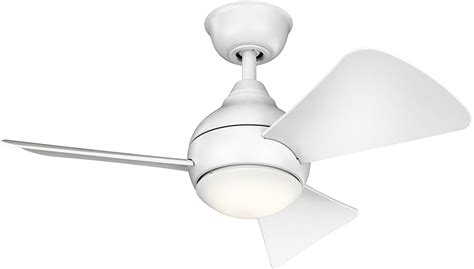 contemporary ceiling fans brushed nickel kichler 337033mwh contemporary brushed nickel ceiling fan