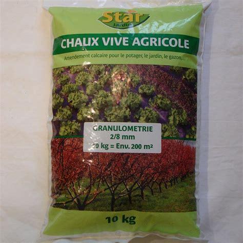 Chaux Vive Jardinage by Chaux Eteinte Agricole