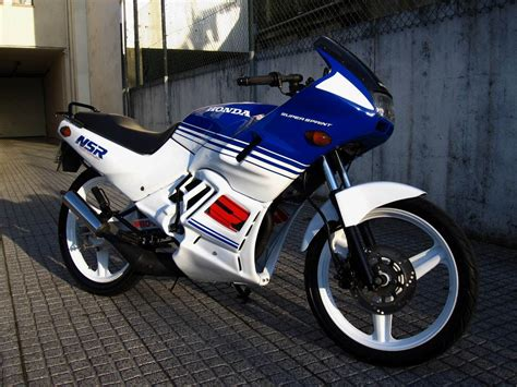 honda nsr honda nsr 50 0 to 90 km h speed test